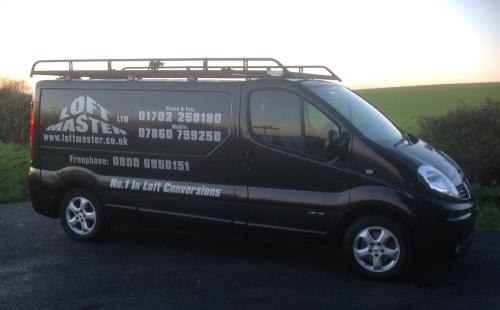 Loft Master company van