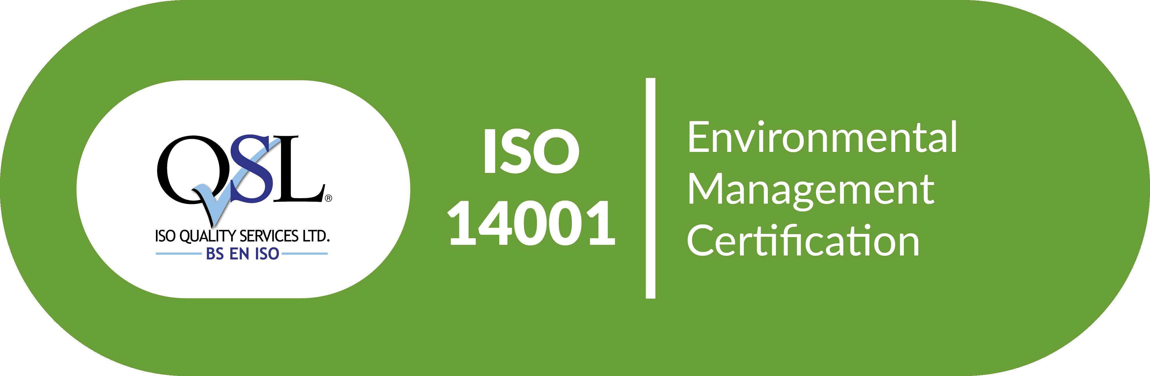 QSL Environmental Management Certificate