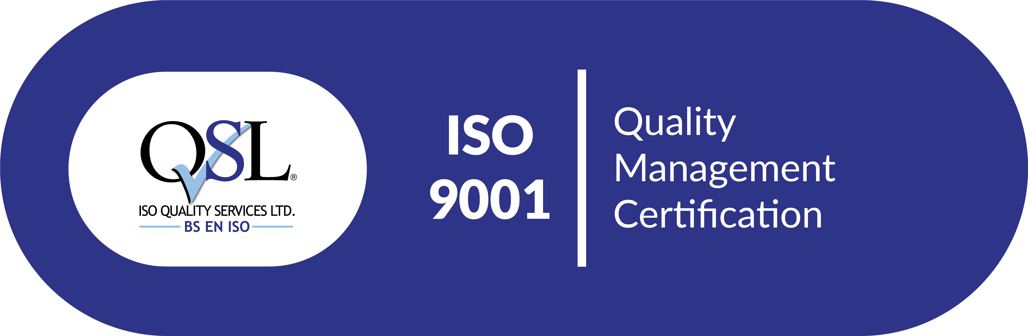 QSL Quality Management Certificate