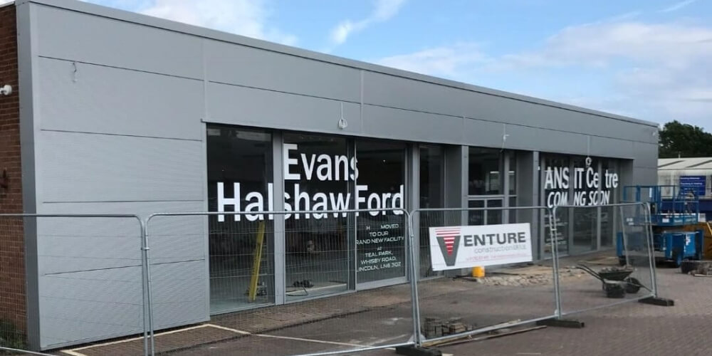 Evans Halshaw Ford Refurbished