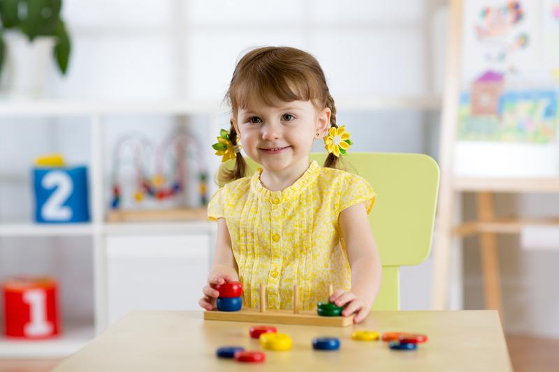 Girl at Nursery