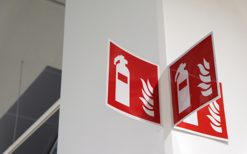 Fire Safety Signs Glasgow