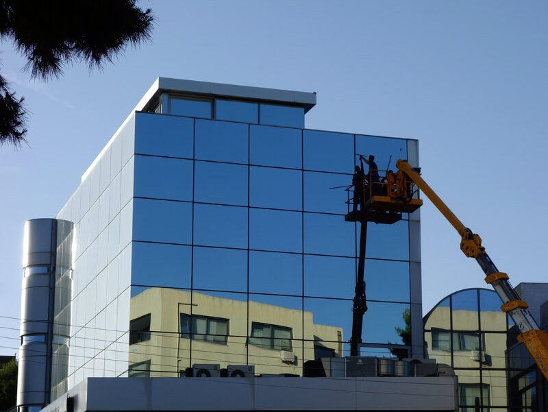 Modern Building Window Washing