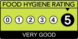 5 star food hygiene rating.