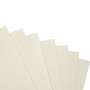 beige coloured card