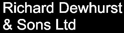 Richard Dewhurst & Sons logo