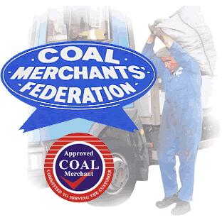 Coal Merchants Federation logo and Approved Coal Merchant logo