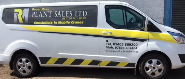 Roger Miles Plant Sales Ltd White Van