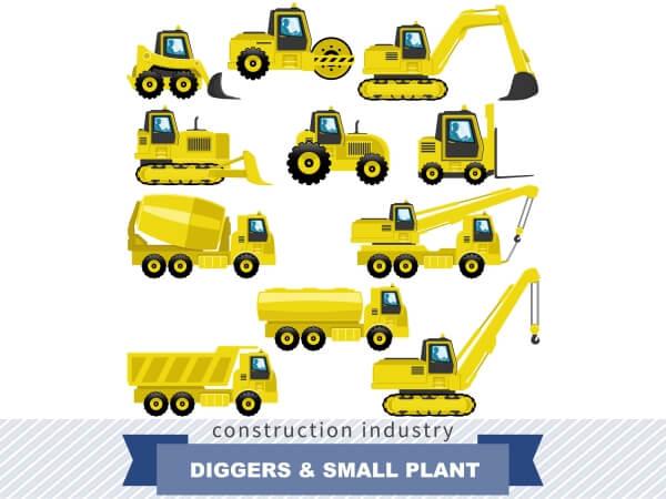 Digger Crane