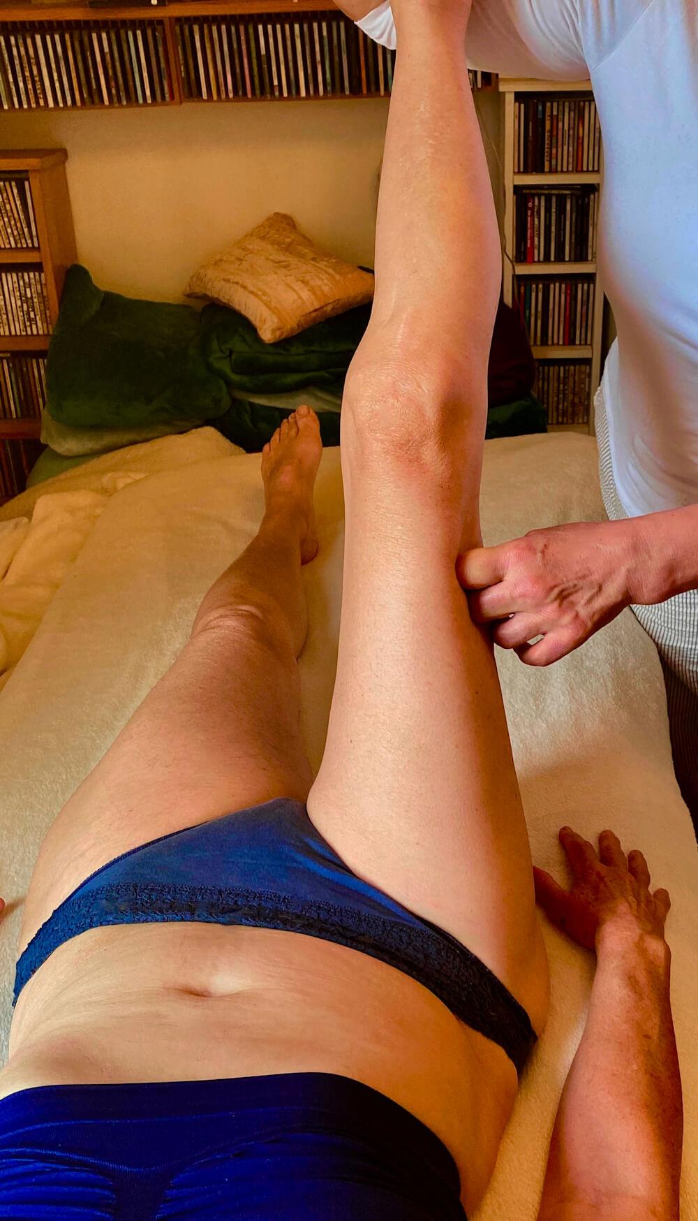 Rolfing Legs