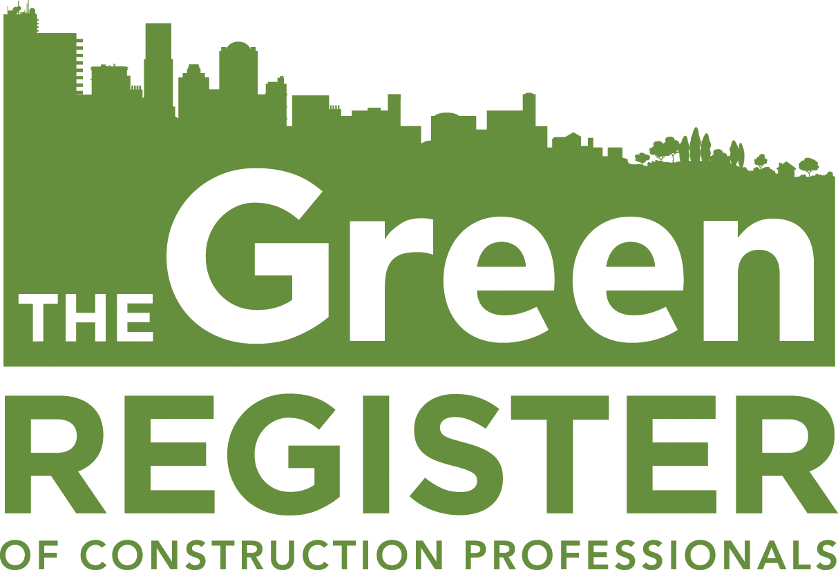 The Green Register of Construction Professionals Logo