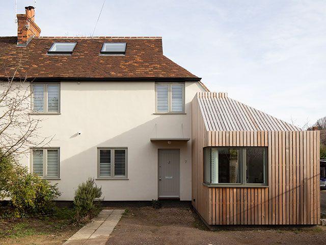 A modern extension.
