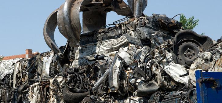 Car Scrap Crusher