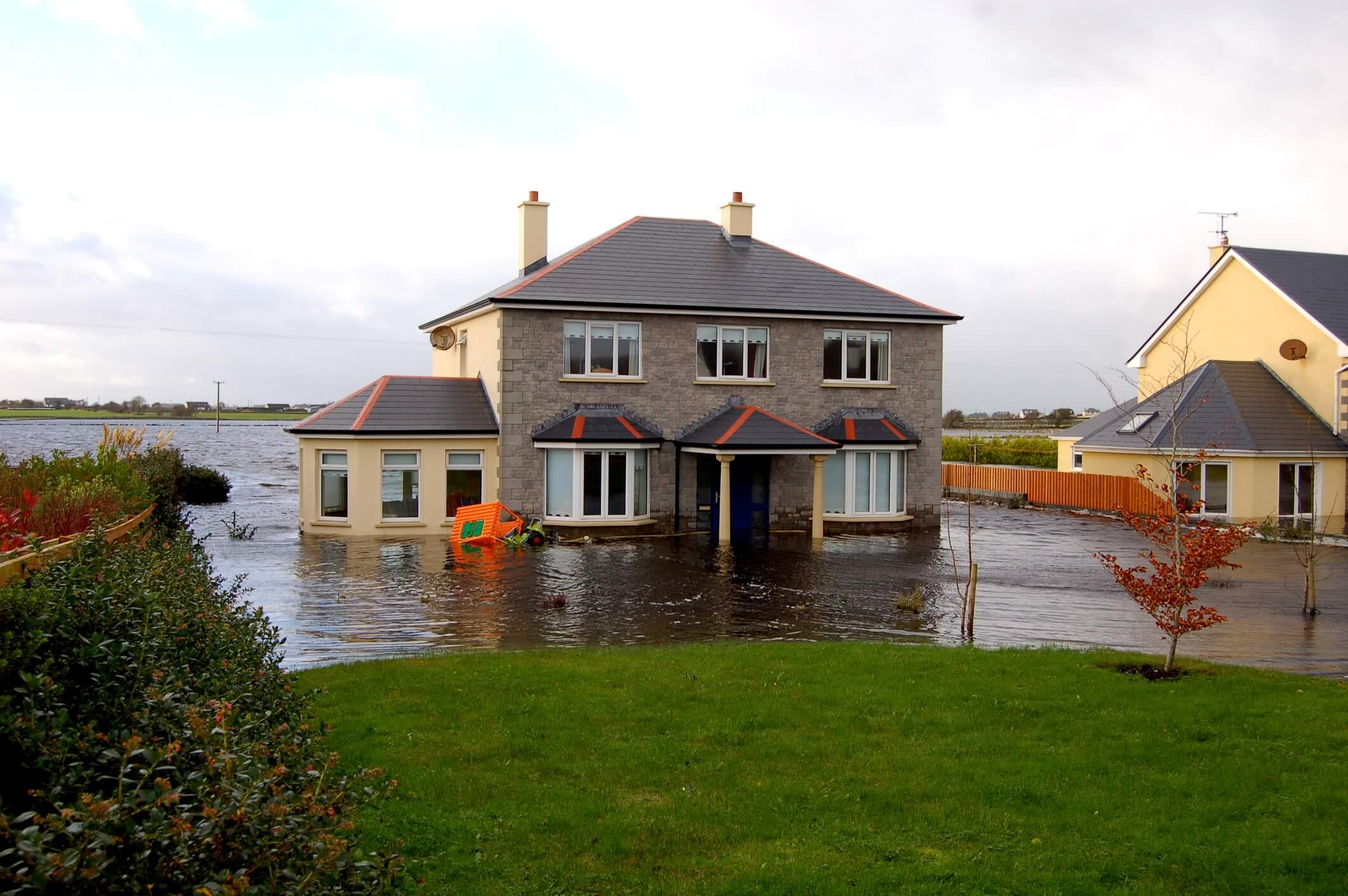 Fire & flood restoration work