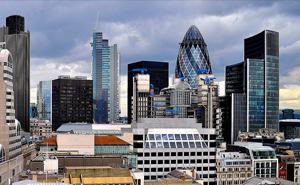 Buildings sky-view.