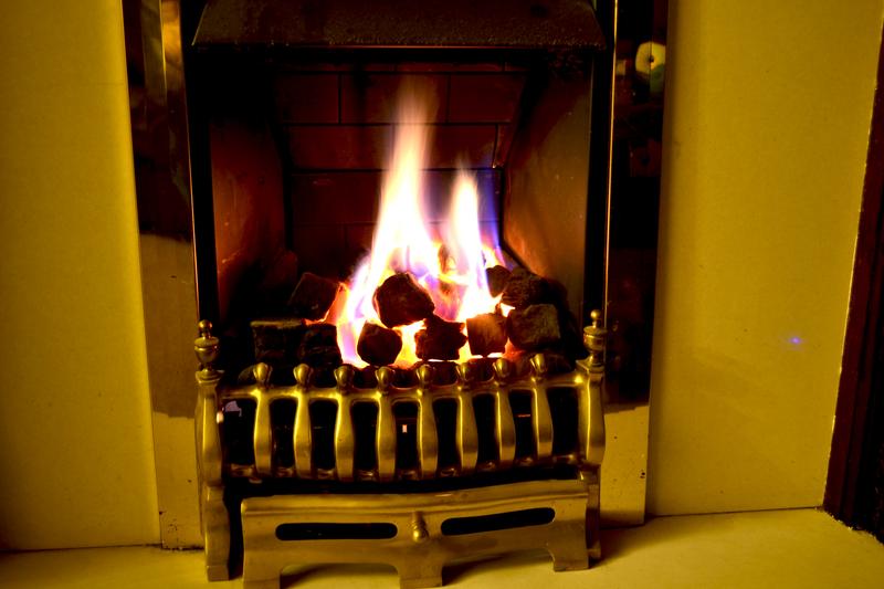 A Gas Fire