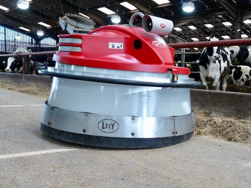 Juno automated feed pusher