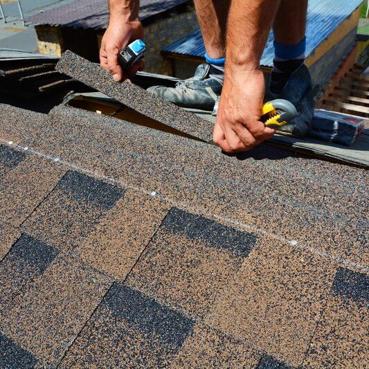 felt roof tiles