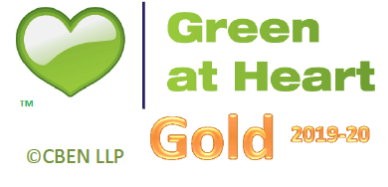 CBEN Green at Heart Gold 2019-20