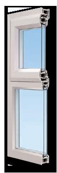 Half a window frame