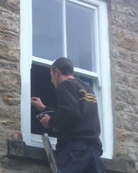 Timber Window Repairs in North East