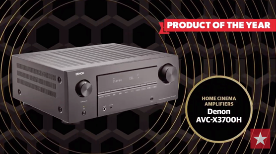 Product of the Year - Home Cinema Amplifiers Denon AVC-X3700H