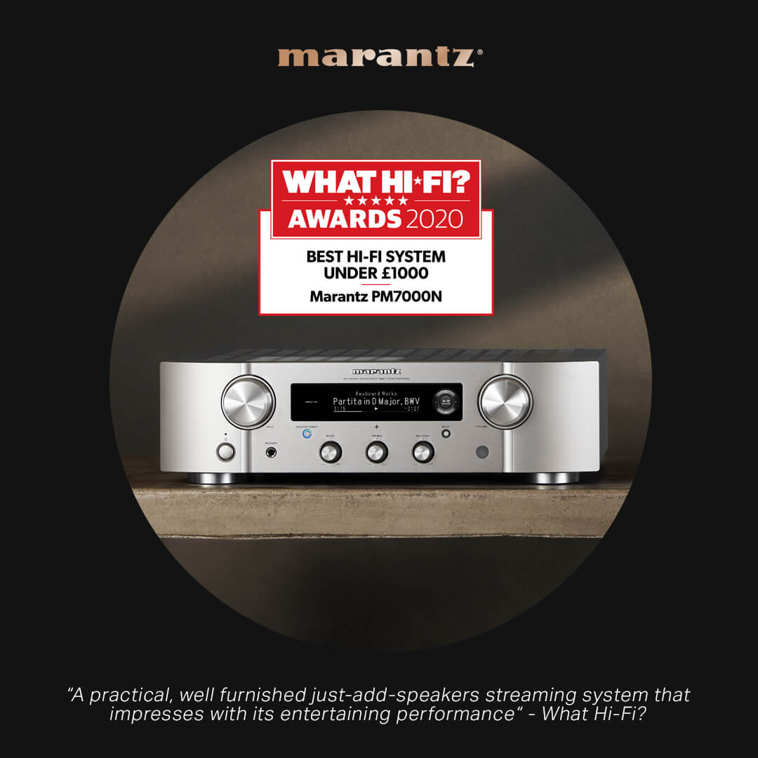 What Hi-Fi Awards 2020 marantz
