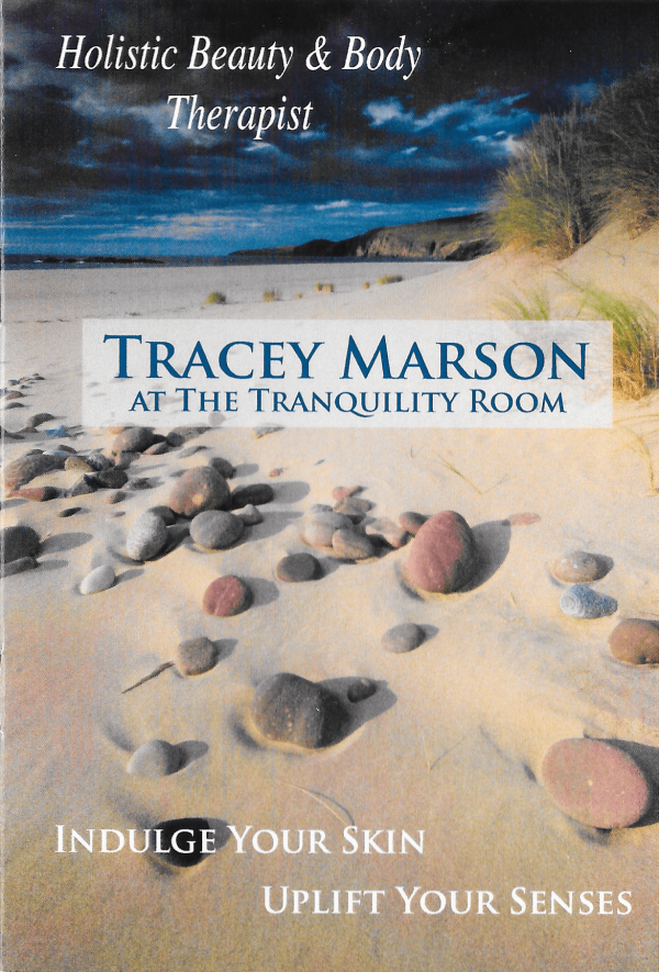 Tracey Marson at the Tranquility Room Poster