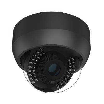 black security camera