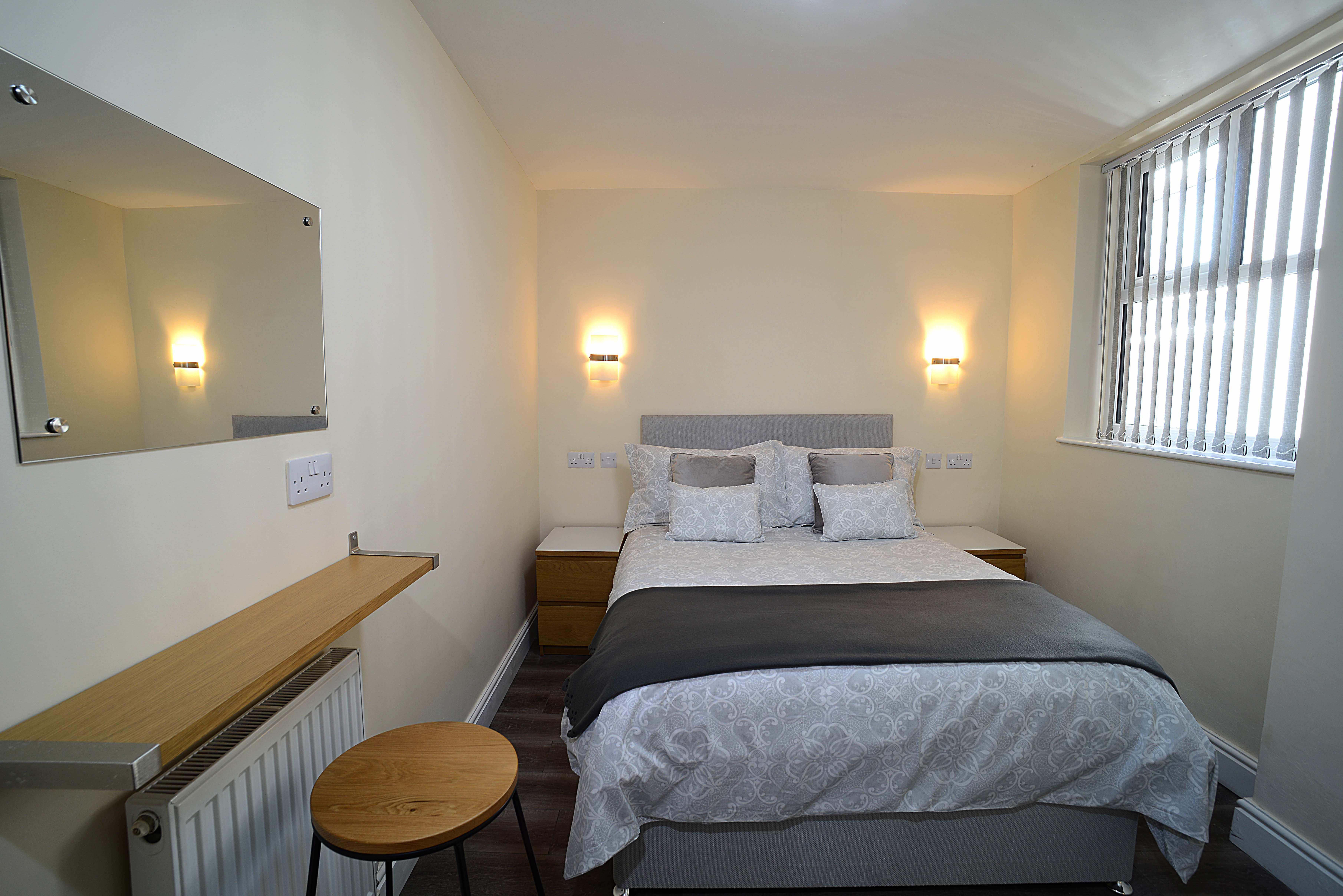 Flat 1 Ground Floor 1 Bedroom Apartment For 4 Twelve Apartments Blackpool Twelve Apartments Blackpool