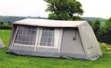 The Traditional Grey 6 Berth Tent