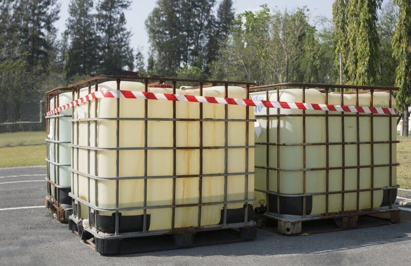 A Bulk Liquid Container
