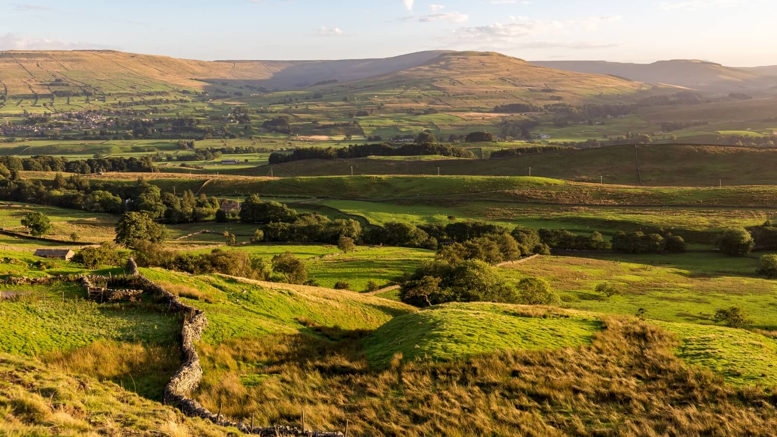 Panoramic View of the Yorkshire Dales