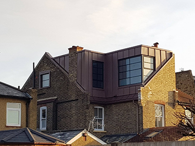 Zinc Roofing And Cladding London Eco Roofing