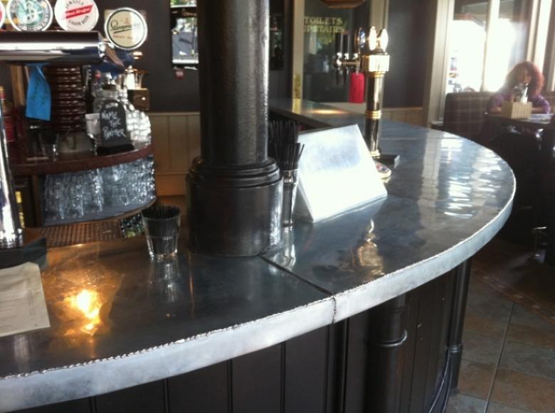 London zinc bars