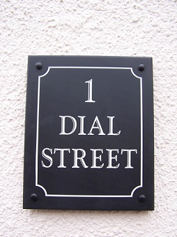 Property Name Signs