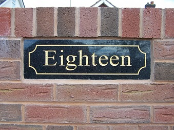 House Signs Numbers