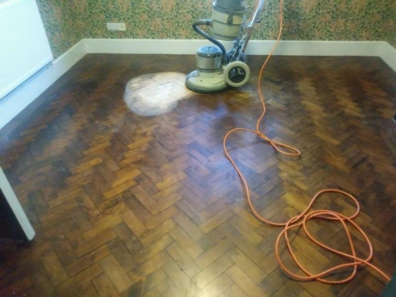 wood floor sanding in Oswestry