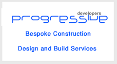 Progressive bespoke construction logo