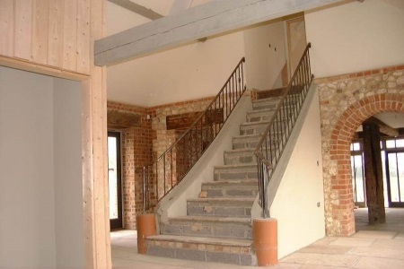 Bespoke staircase and handrail