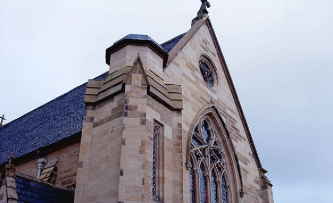 The old church of St Sylvesters