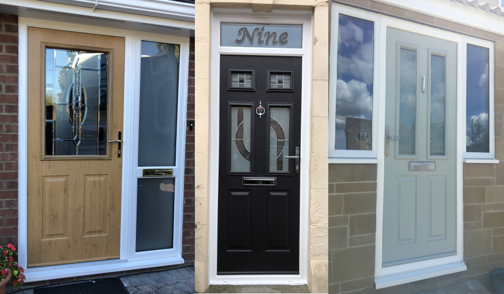 solidor composite doors installed by gms windows in somerset