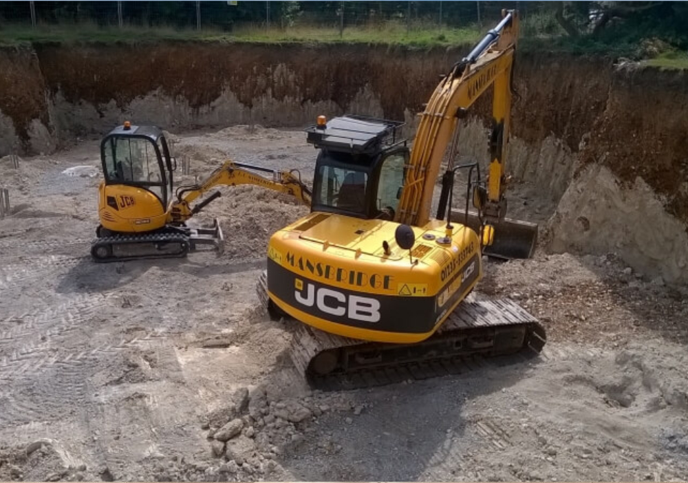 Groundworks in Oxfordshire