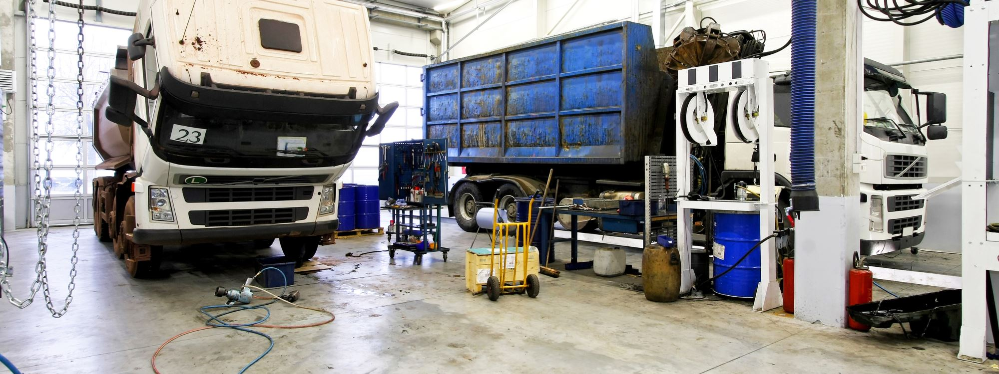 Lorry Repairs West Sussex