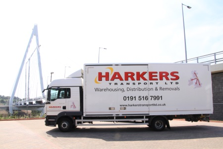Harkers Transport company lorry