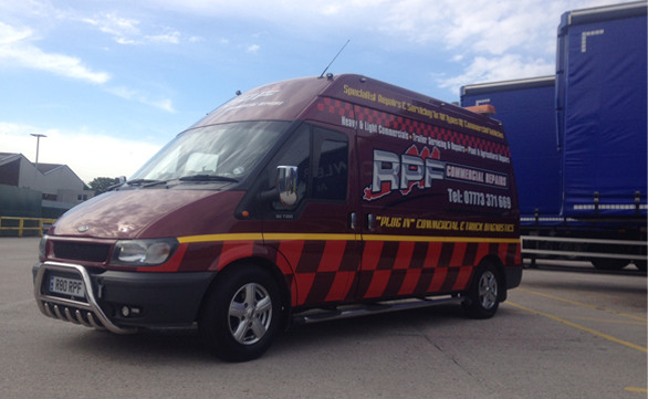 RPF Commercials Van