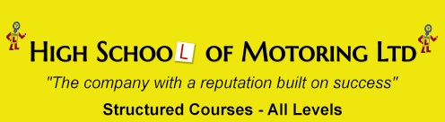 High School of Motoring logo
