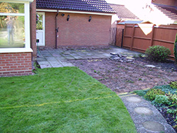 Before the garden was paved