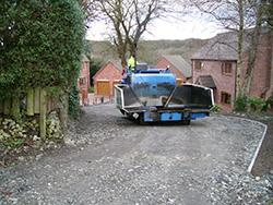 Image of paving machinery