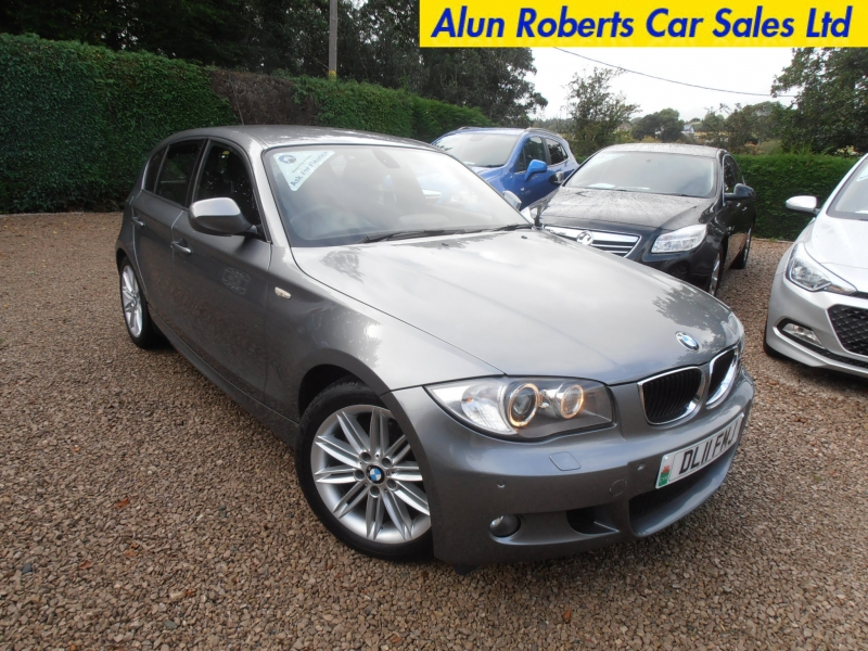 2011 11 reg bmw 118d 2 0td m sport step auto turbo diesel alun roberts car sales ltd. Black Bedroom Furniture Sets. Home Design Ideas